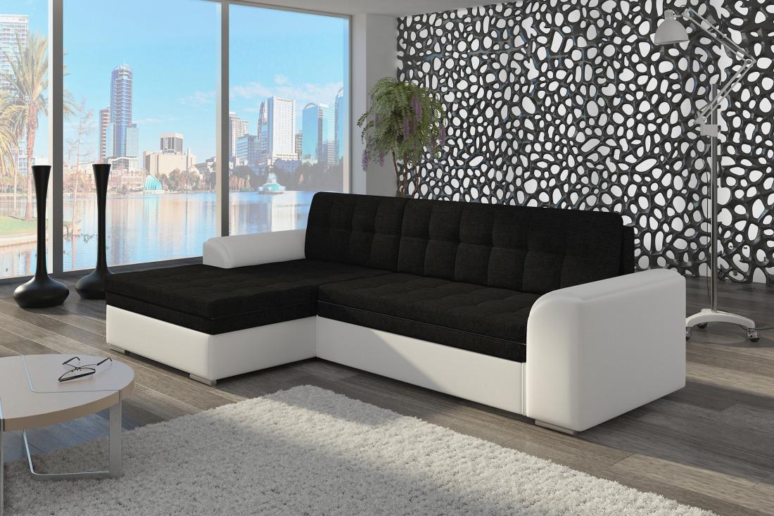 canap noir convertible interesting canap pliant original splitback cuir synthtique noir. Black Bedroom Furniture Sets. Home Design Ideas
