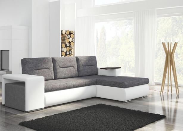 OCTANS  - Canapé d'angle droit convertible