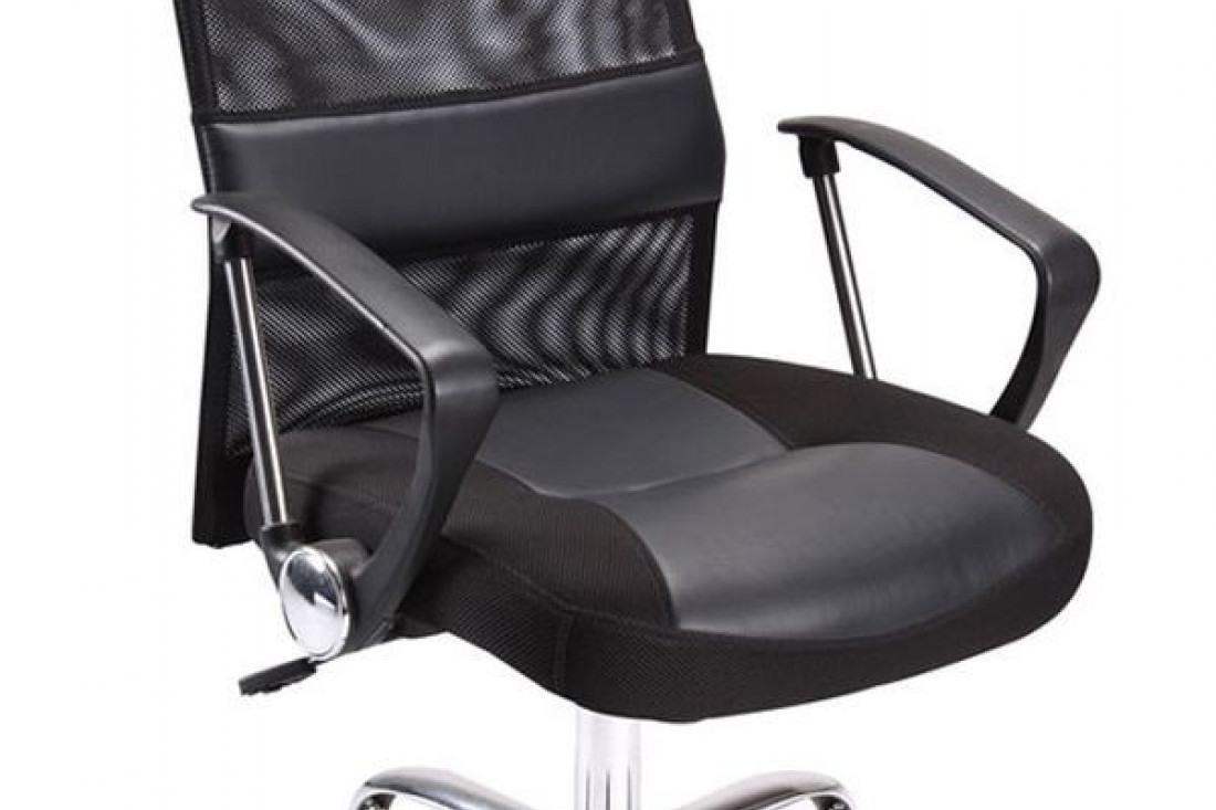 fauteuil chaises de bureau noir confortable sophie. Black Bedroom Furniture Sets. Home Design Ideas