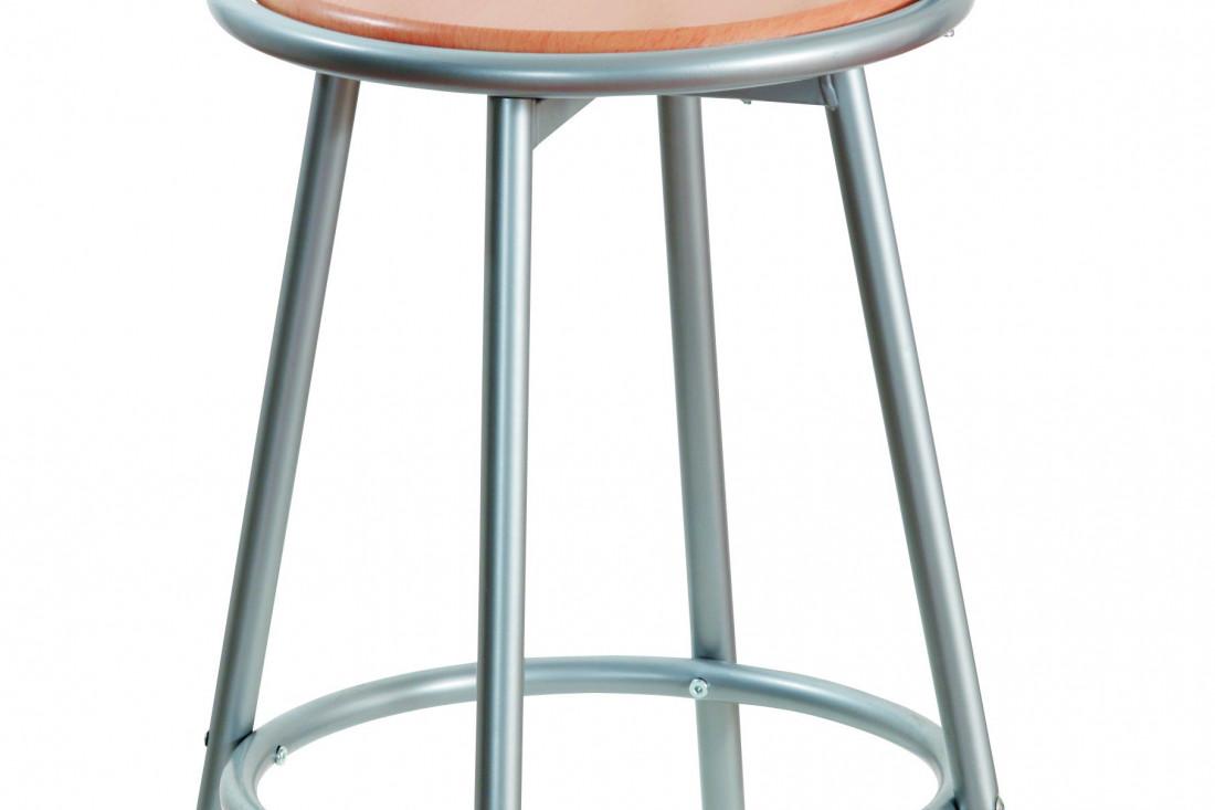 Tabourets de cuisine tabouret de bar bistrot noir plus - Renover assise chaise ...