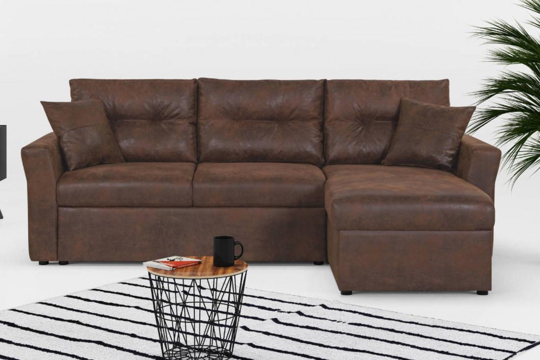 midland canap d 39 angle r versible convertible industriel. Black Bedroom Furniture Sets. Home Design Ideas