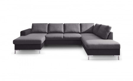 BOBOCHIC LILLY - Canapé panoramique en tissu - angle droit