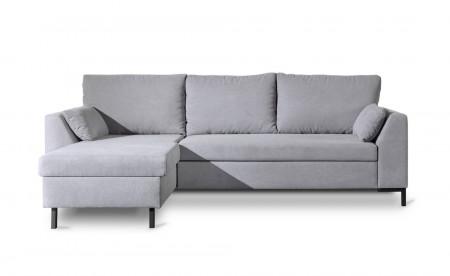 MONTANA - Canapé d'angle réversible convertible en tissu