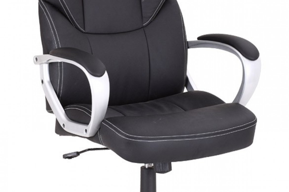 Fauteuil siège de bureau de direction confortable en simili cuir