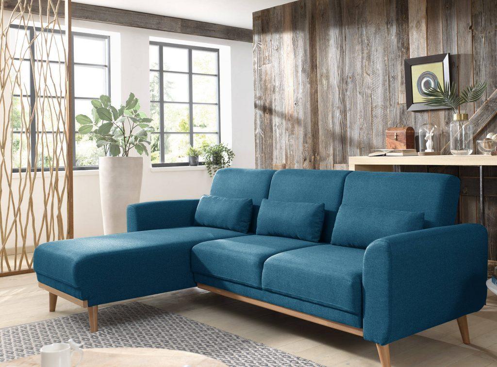 10 canap s bleus pour une d co tendance. Black Bedroom Furniture Sets. Home Design Ideas