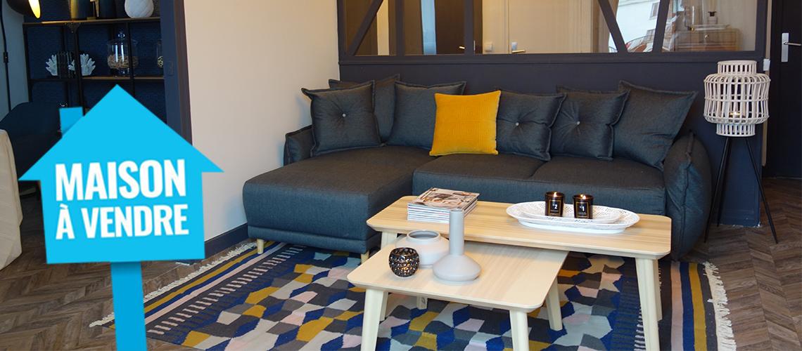 «Maison à vendre»: Emmanuelle Rivassoux choisit le canapé Bobochic Lena vendu chez Best Mobilier pour l'émission