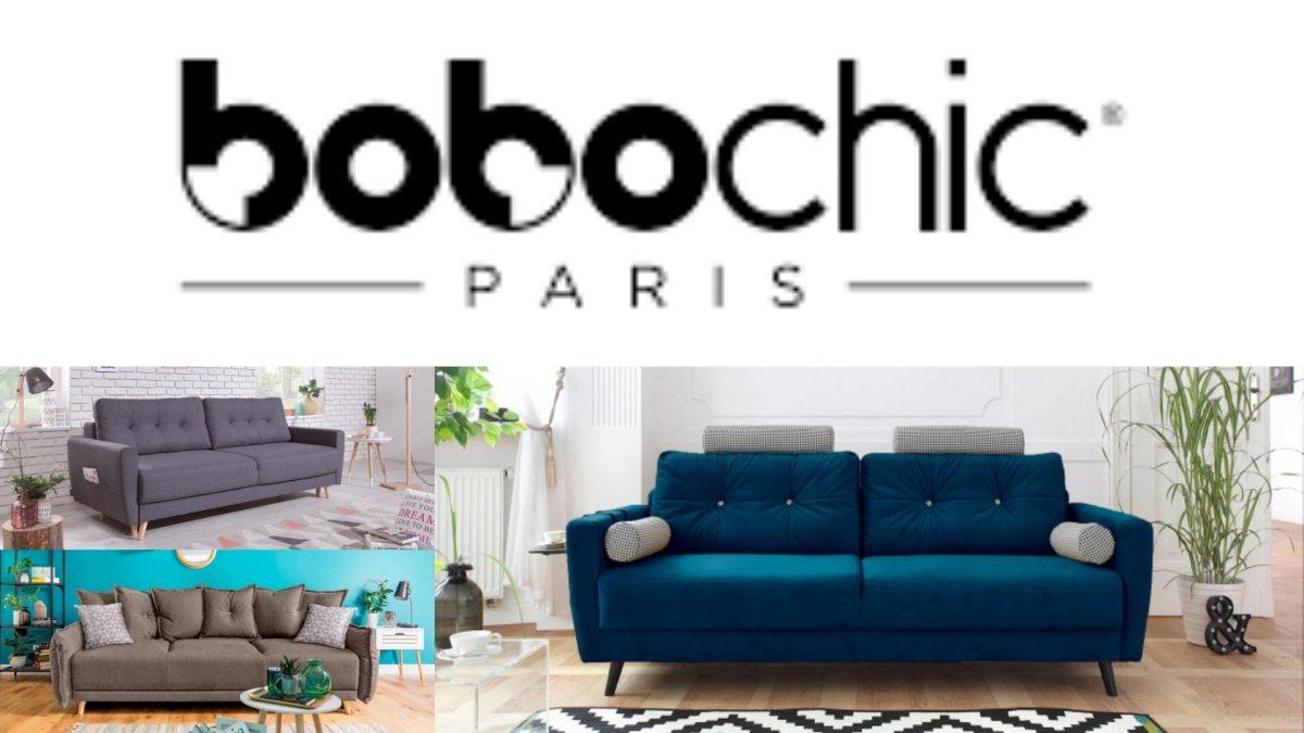 Les canapés 3 places Oslo et Lena Bobochic Paris