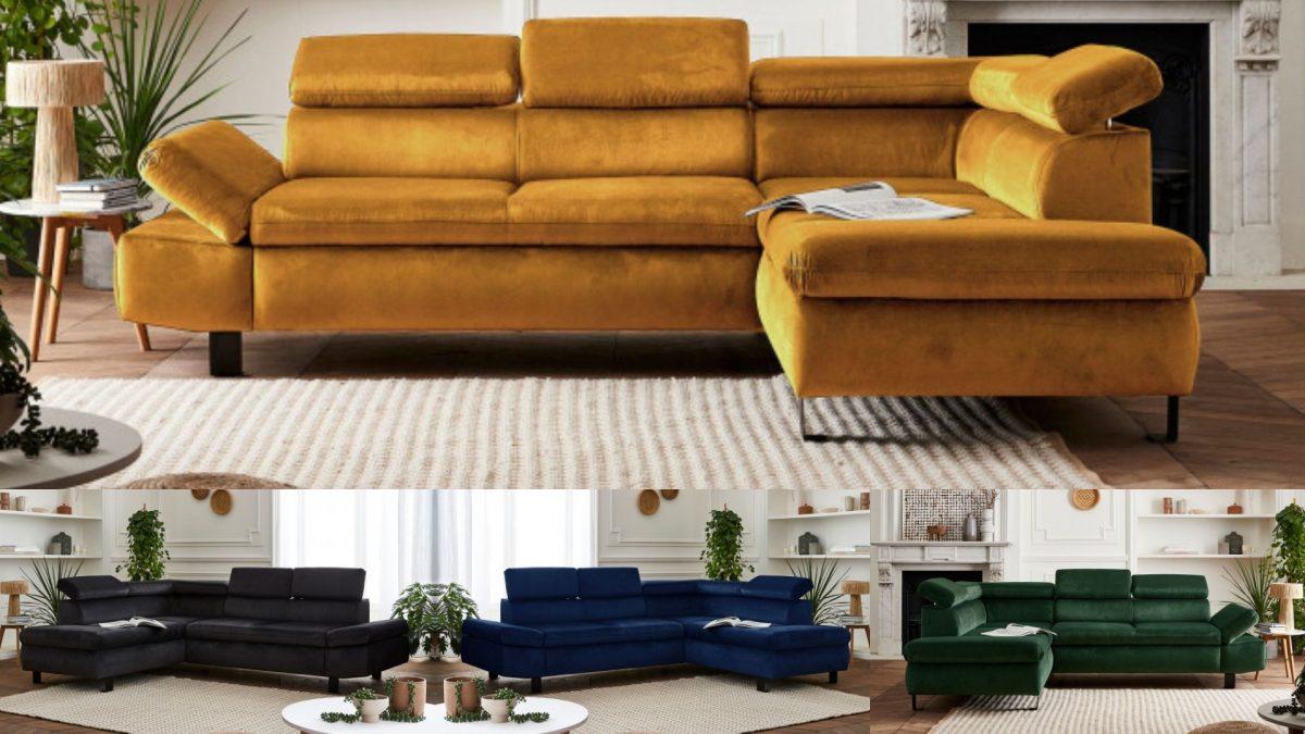 La dernière nouveauté Lisa Design : le canapé d'angle Nairobi !