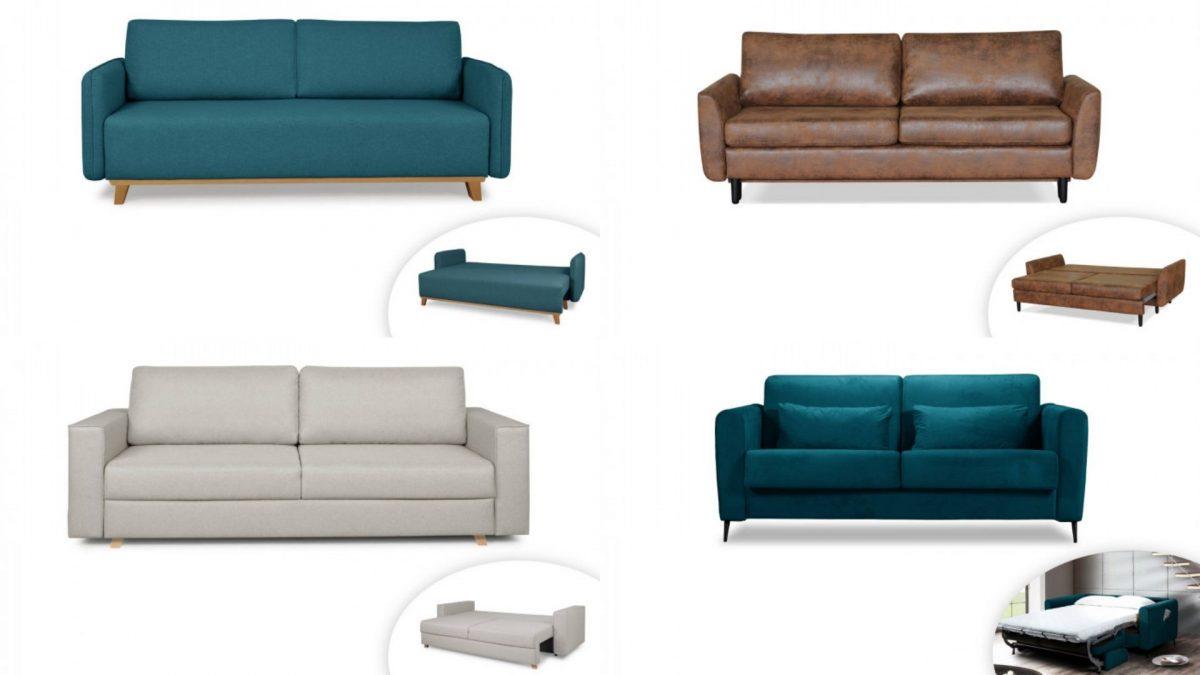 Notre gamme de canapés 3 places by Lisa Design s'est agrandit !