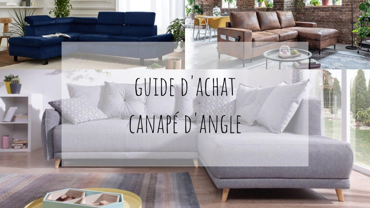 Guide d'achat : le canapé d'angle