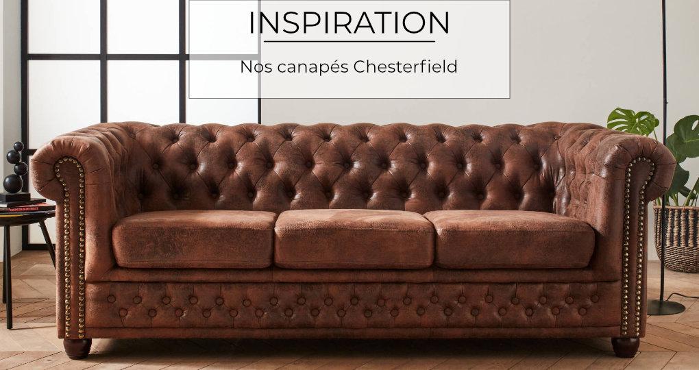 Notre nouvelle gamme de canapé Chesterfield