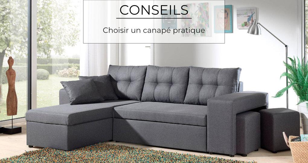 Choisir un canapé pratique