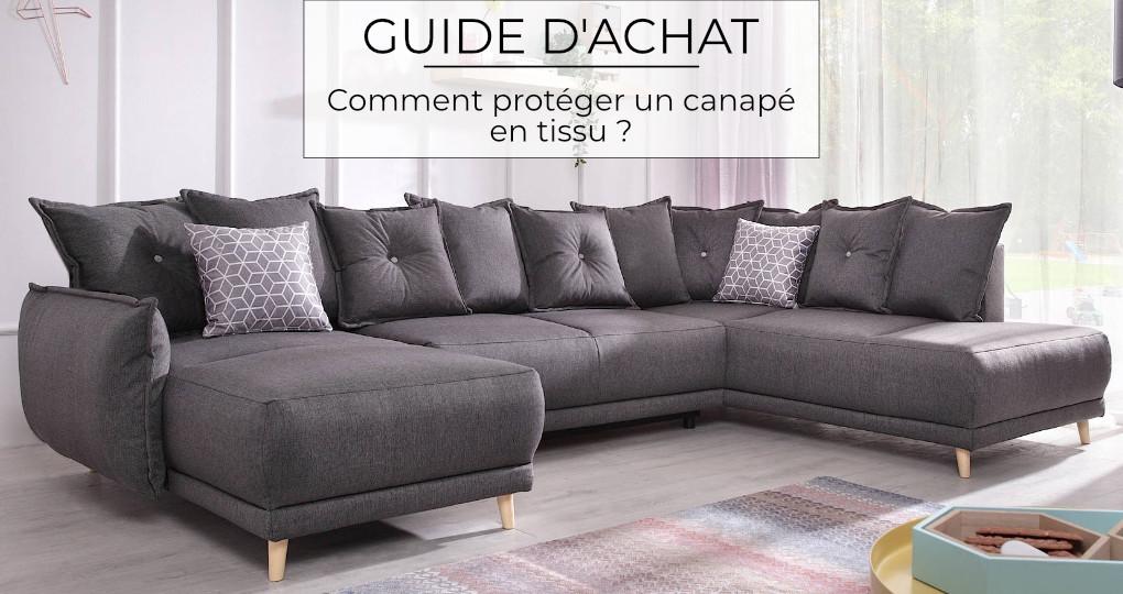 Comment protéger son canapé en tissu ?