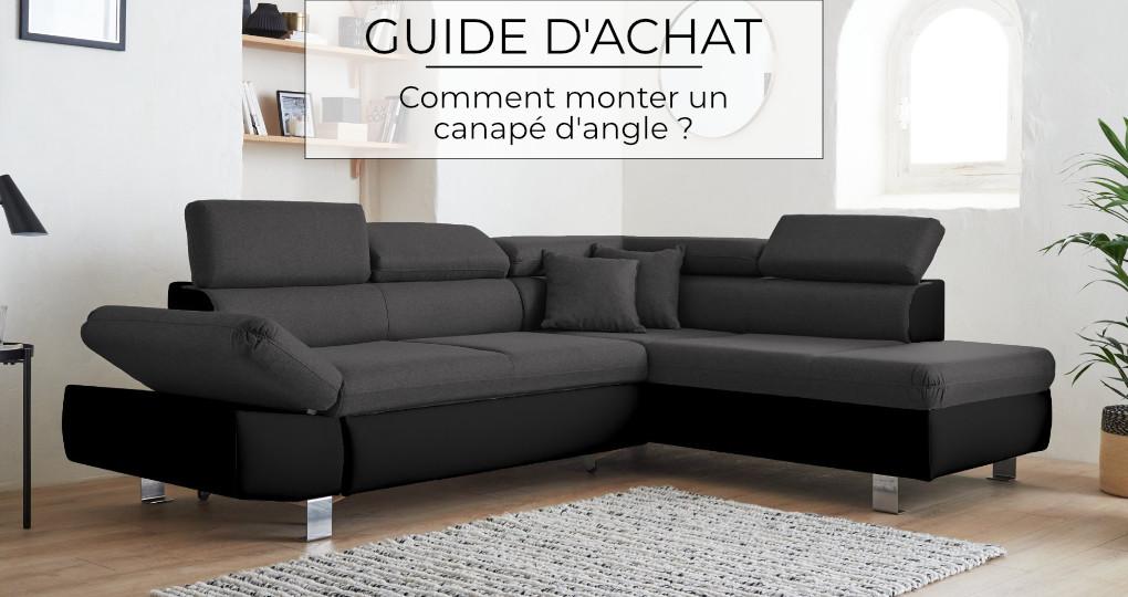 Comment monter un canapé d'angle ?