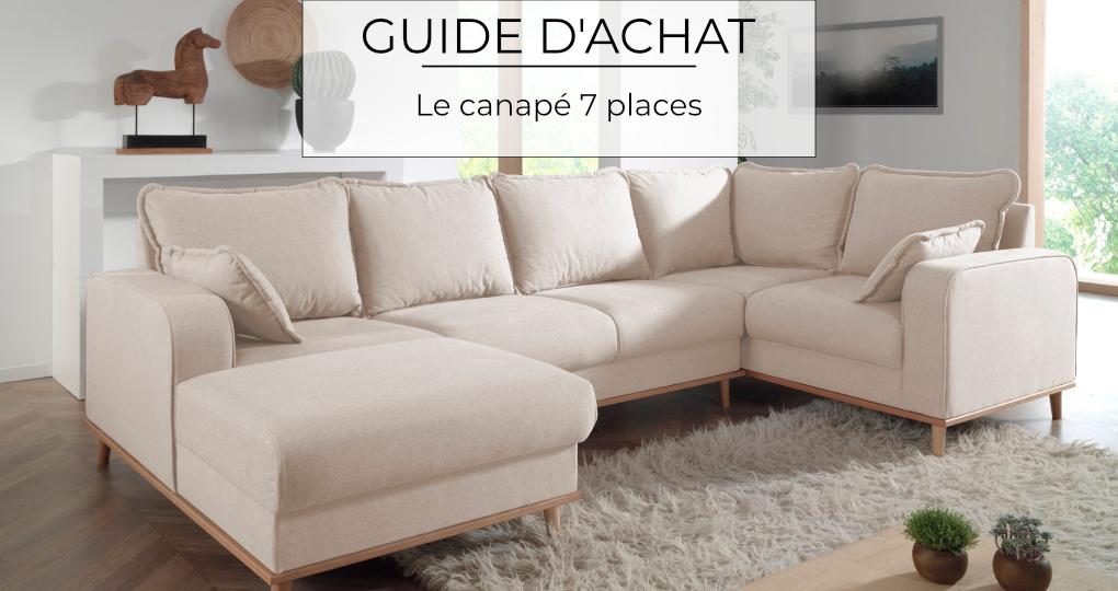 Guide d'achat : le canapé 7 places