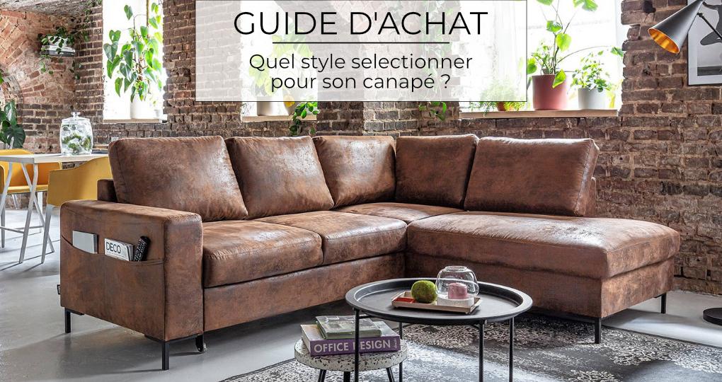 Quel style sélectionner pour son canapé ?