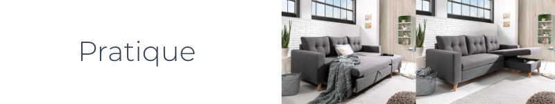 nordic canap d angle scandinave gris clair r versible et convertible. Black Bedroom Furniture Sets. Home Design Ideas