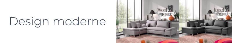 Le design moderne et tendance du canapé Jade