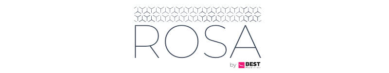 Présentation du canapé d'angle droite convertible Rosa