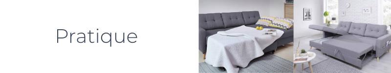 Le canapé d'angle Oslo de Bobochic est pratique et fonctionnel