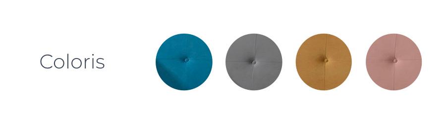 Les coloris du canapé d'angle Olaf proposé par Best Mobilier